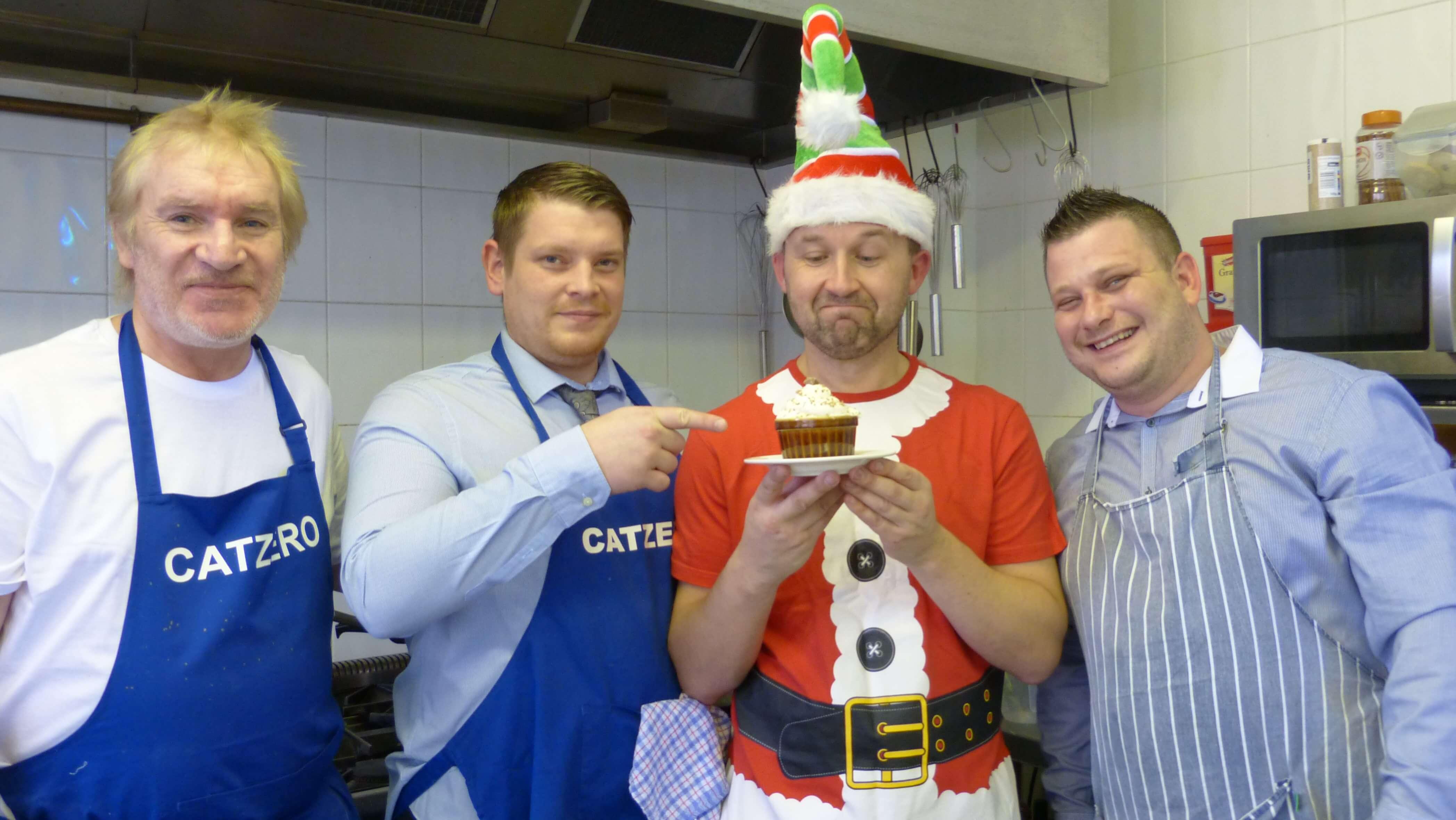 Veterans cook up a festive treat