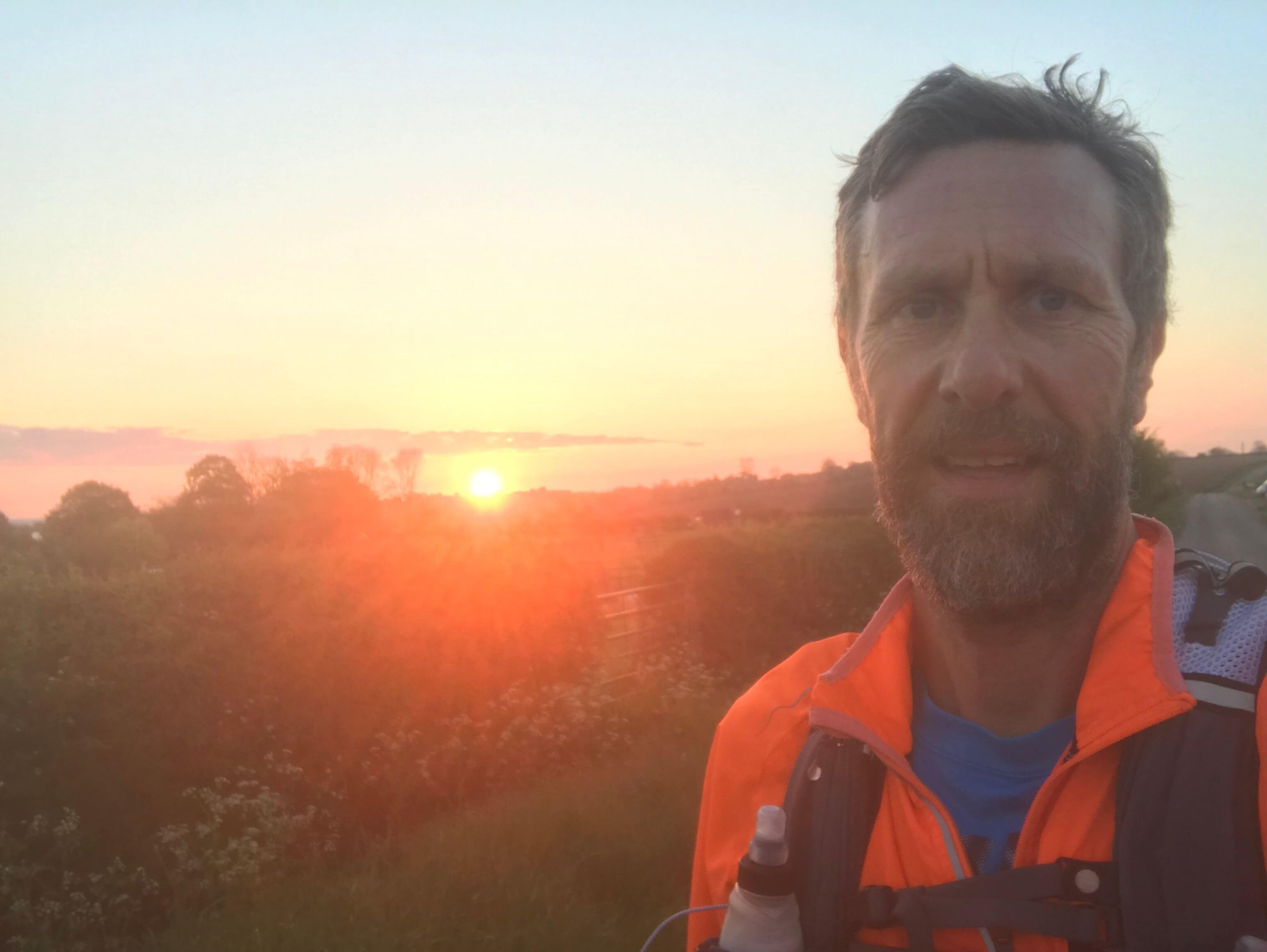 Danny Watson's on the run again!!! 'THE WALL' Ultra Marathon 2019!