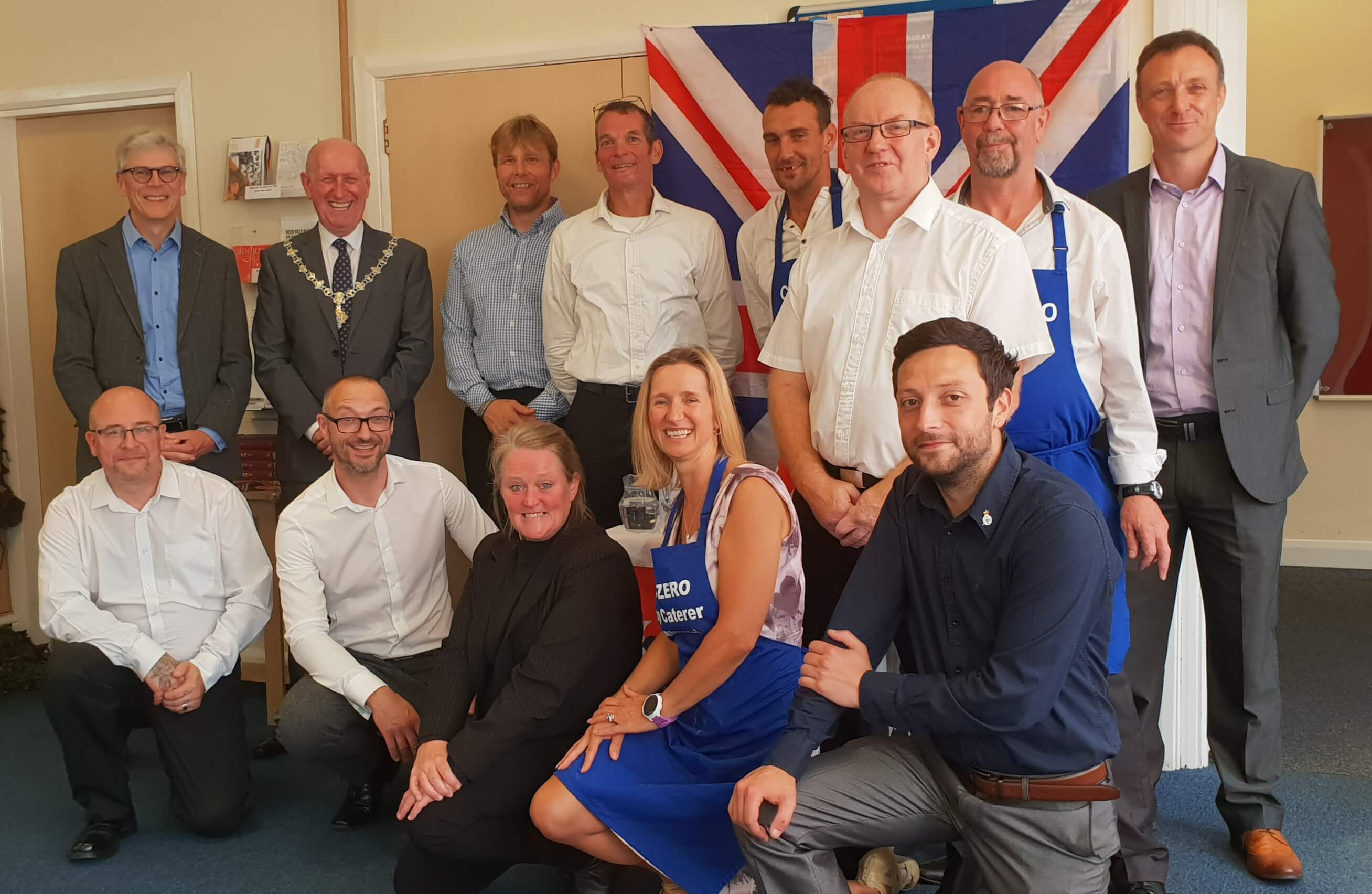 Lunch served up in Cleethorpes by our veterans
