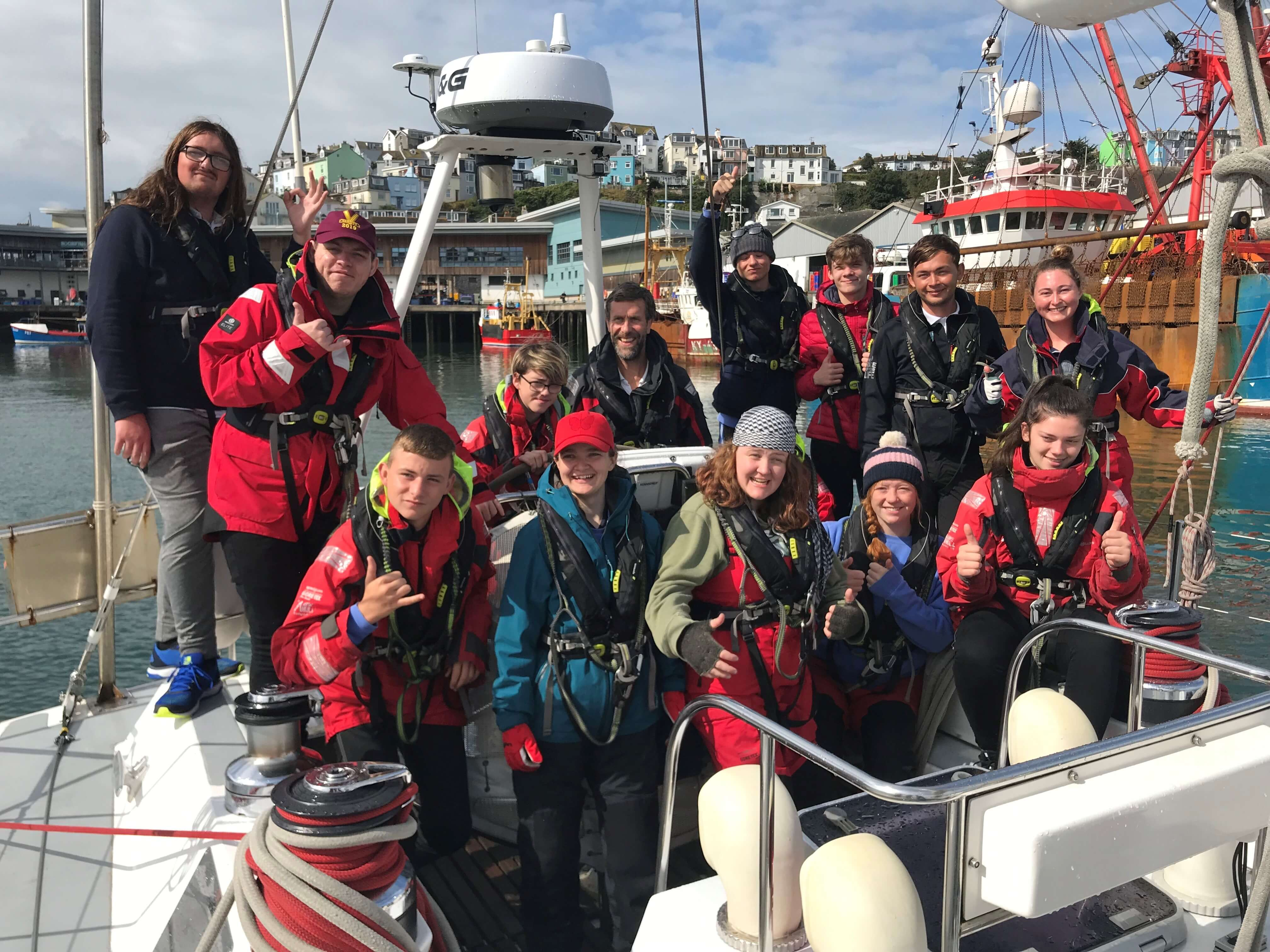 The sailing adventure of a lifetime for Grimsby youngsters